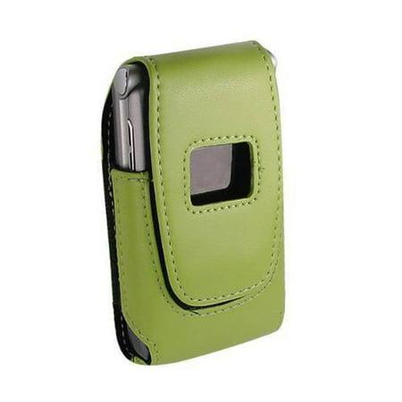 Technocel - Plastic Shield for Motorola V3 RAZR, Samsung A900 - Green Blossom