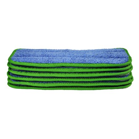 CleanAide® All Purpose Twist Yarn Microfiber Mop Pads 10 Inches 6 Pack
