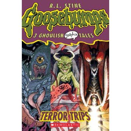 Goosebumps Graphix #2: Terror Trips](Halloween 30 Years Of Terror Comic Book)