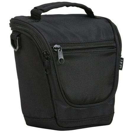 - Onn SLR Basic Camera Carrying Case with Strap, 7x6x3.5 Inch