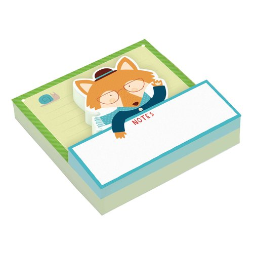 Mr. Fox Shaped Memo Pads