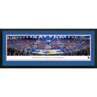 Kansas Jayhawk Basketball - Battle of the Blue - Big 12/SEC Challenge Panorama Print