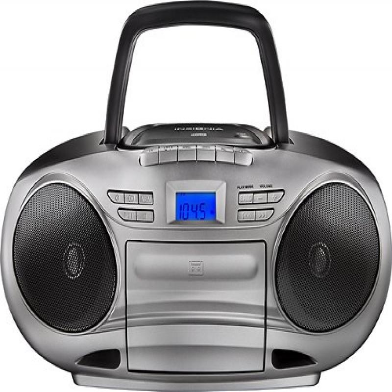 Insignia CD cassette Boombox with Am fm Radio by Insignia