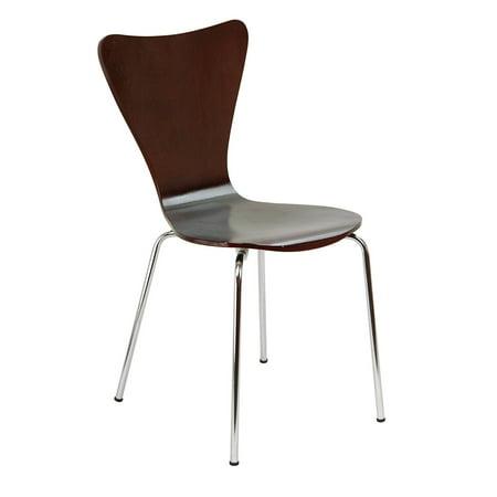 Legare Furniture Perfect Sit Bent Ply Chair, Espresso ()