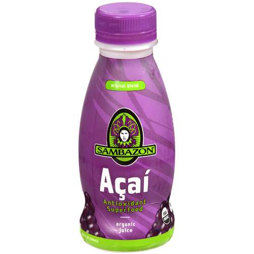 Sambazon: Organic Juice Original Blend Acai, 10.50 fl oz