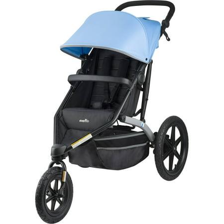 - Evenflo Charleston Jogging Stroller, Sky Blue