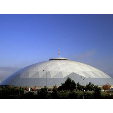 Tacoma Dome, Tacoma, Washington Print Wall Art By Jamie & Judy Wild