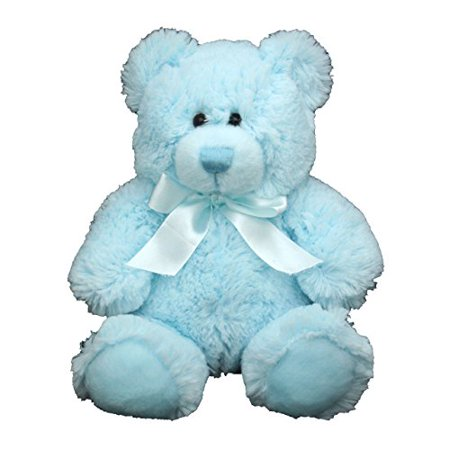 Anico Plush Toy, Stuffed Animal, Bear, Blue, 8 Inches Tall - image 1 of 1