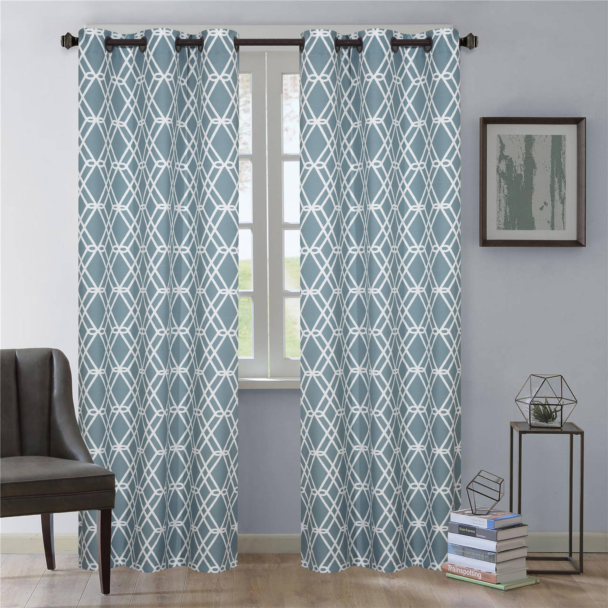 Nanshing Magnus Window Curtain Panels Set of 2 with Grommet by NANSHING AMERICA INC