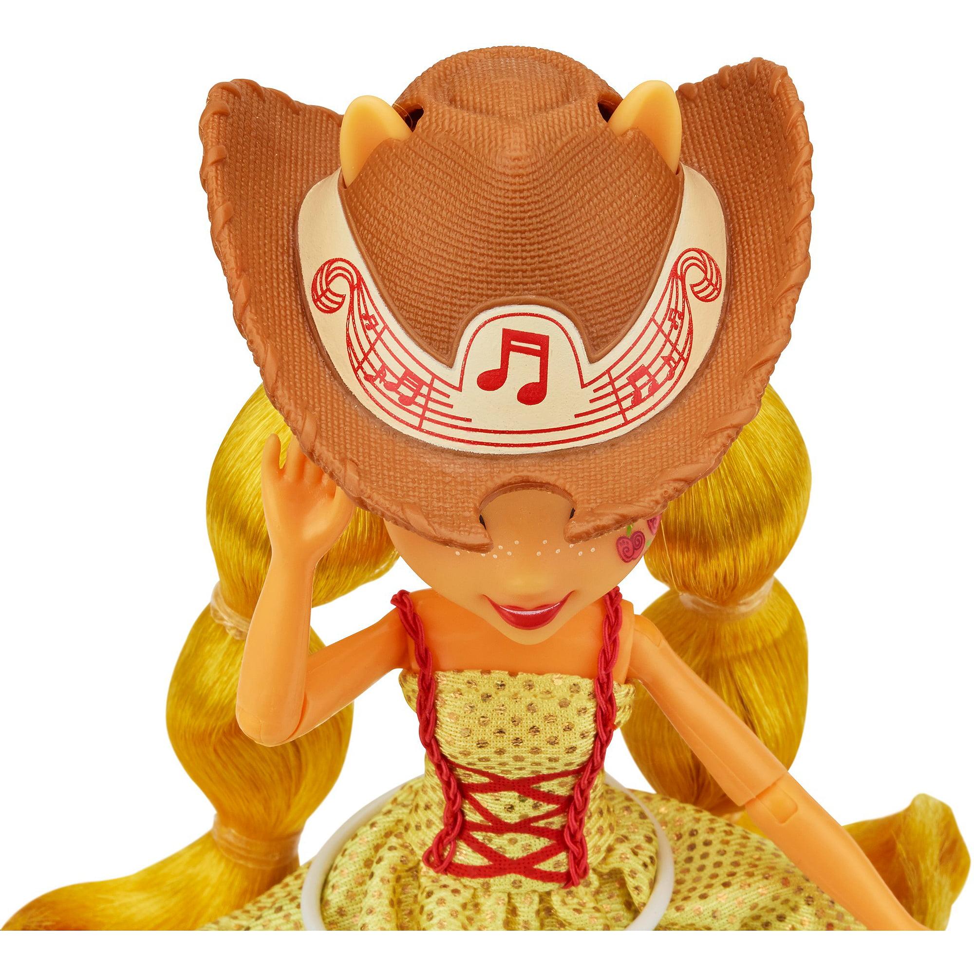 My Little Pony Equestria Girls Rainbow Rocks Applejack Doll - Rockin hairstyles dolls