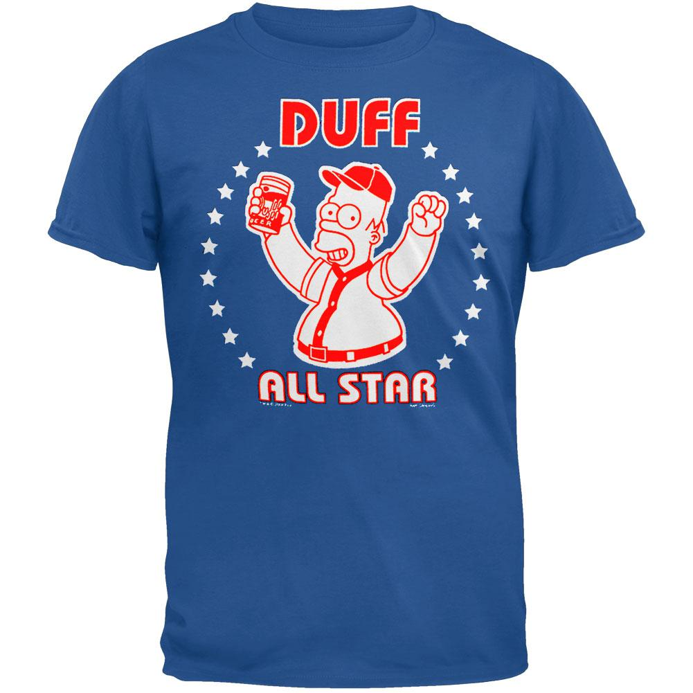 Simpsons - Duff Allstars T-Shirt