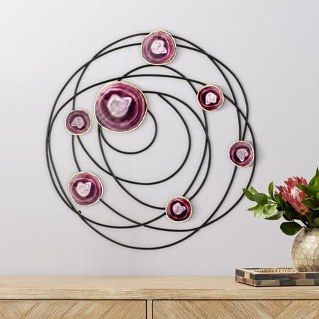 Newhill Designs Purple Agate 24 3/4