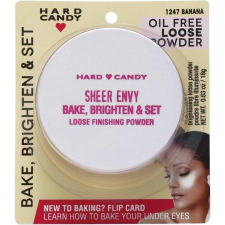 Hard Candy Sheer Envy Bake, Brighten & Set Loose Finishing Powder, 0.63 (Best Loose Powder For Baking)