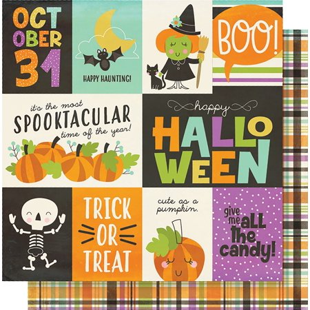 Simple Sets Happy Halloween Double-Sided Cardstock 12