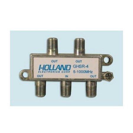 Brand New Holland Electronics 33-2140 4 Way Rfi Splitter 2 Pack