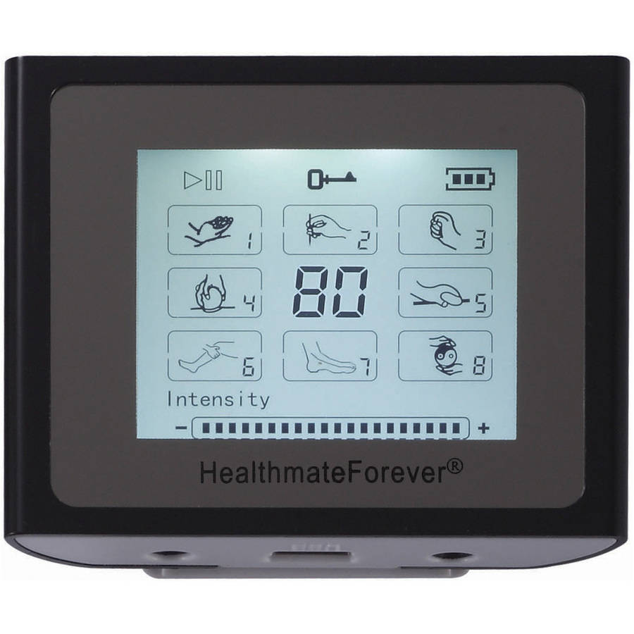 HealthmateForever NTS8 TENS Muscle Recovery & Pain Relief System (Black)