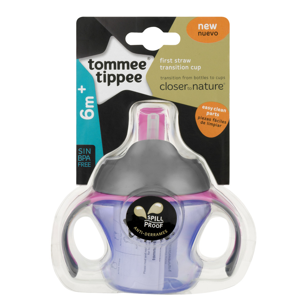Tommee Tippee First Straw Transitional Trainer Sippy Cup