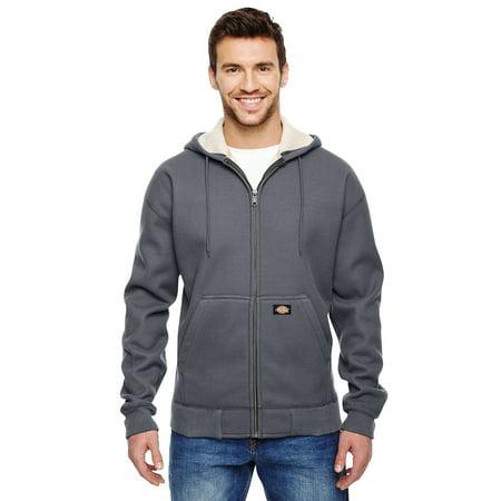 6ebac06edf01 Dickies Men s 450 Gram Sherpa-Lined Fleece Hooded Jacket - image 1 ...