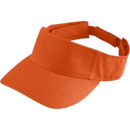 Augusta Sport Twill Visor Orange Os - image 1 de 1