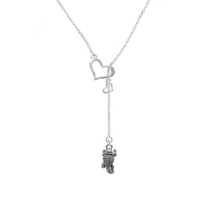 Horn Heart (Horn Toad - In My Heart Lariat Necklace )