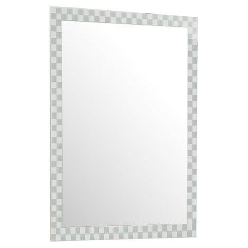 Décor Wonderland Frameless Checkmate Wall Mirror - 23.5W x 31.5H in.