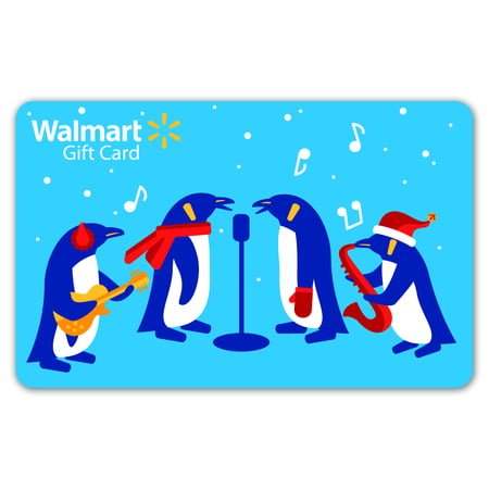 Penguin holiday walmart gift card walmart negle Gallery