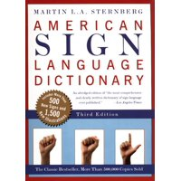 American Sign Language Dictionary-Flexi (Paperback)