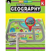 180 Days of Geography for Kindergarten: Practice, Assess, Diagnose - eBook