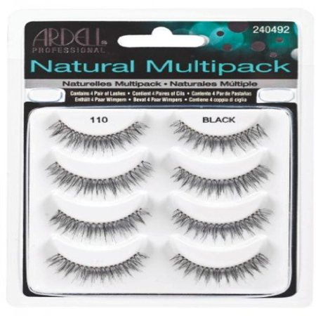 7f441296a60 Ardell Natural Multipack Lashes - #110 Black (Pack of 2) - Walmart.com