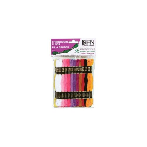 Janlynn Pastel Embroidery Floss Value Pack  Walmart