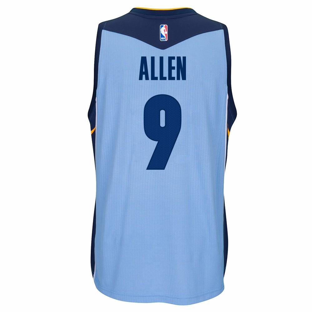 Tony Allen Memphis Grizzlies NBA Adidas Blue Official Climacool Away Road Swingman Jersey For Men