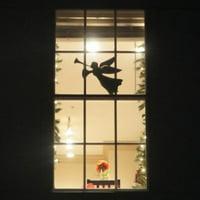 product image teak isle christmas window decoration flying angel - Teak Isle Christmas Decorations