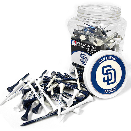 Team Golf MLB San Diego Padres Jar Of 175 Golf Tees