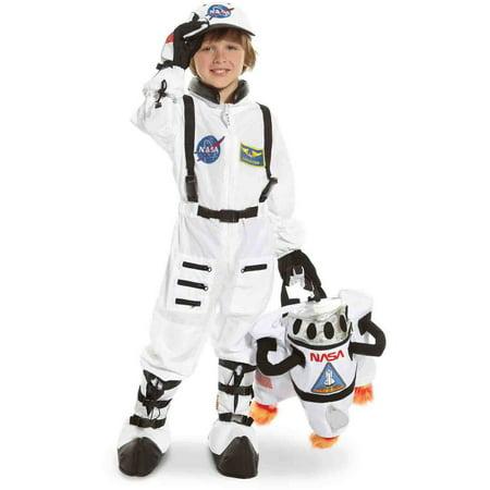NASA Jr. Astronaut Suit White Toddler Halloween Costume