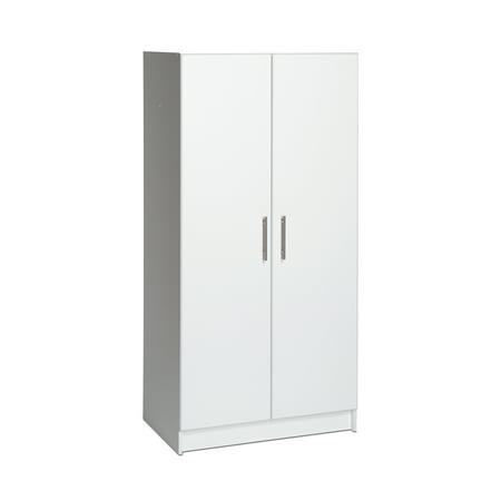 Colonial White Cabinets - Prepac Elite 32
