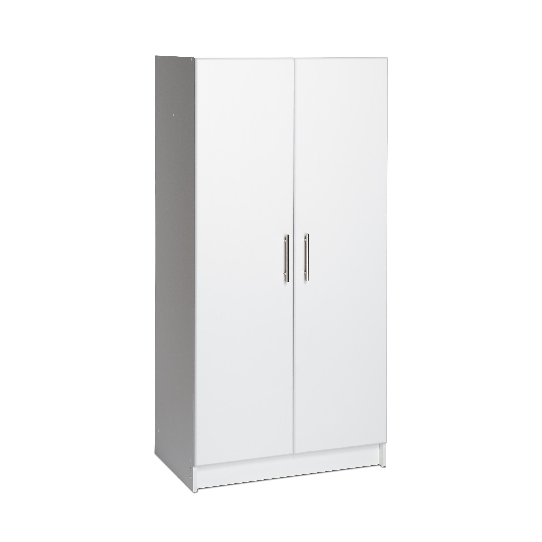 "Prepac 32"" Wardrobe Cabinet, White"
