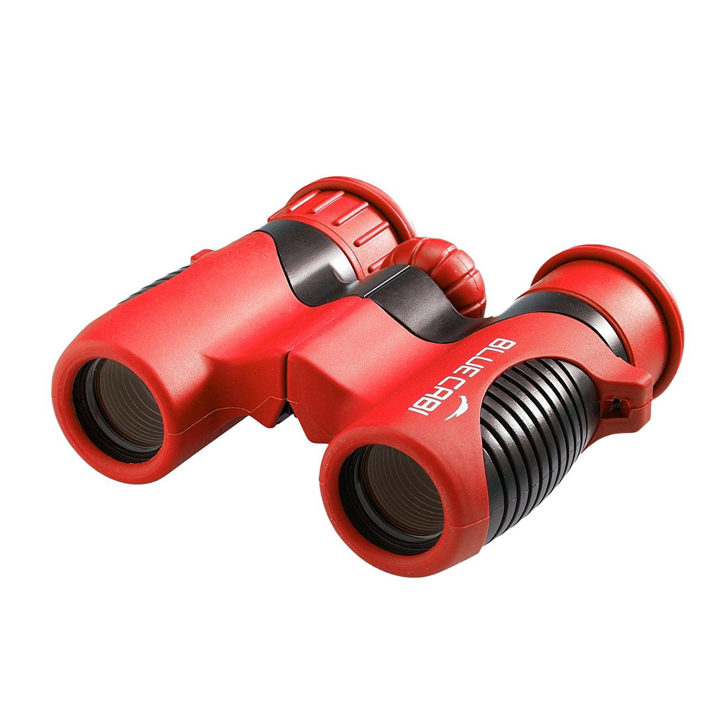 BlueCabi 6x21mm Children Binoculars by Bresser Shock-Proof Children Binoculars for Kids Binoculars for Bird Watching... by BlueCabi
