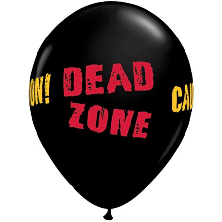 Qualatex Caution! Dead Zone Halloween 11