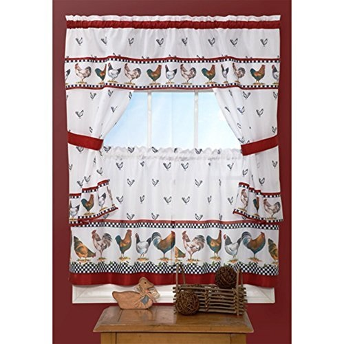 Achim Top of the Morning Cottage Curtain Set by Achim