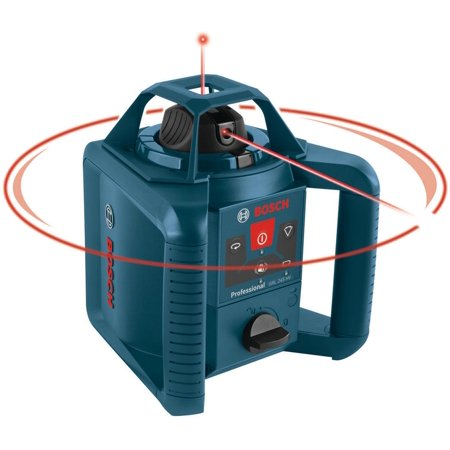 Bosch GRL 245 HVCK 800-ft. Self-Leveling Rotary Laser