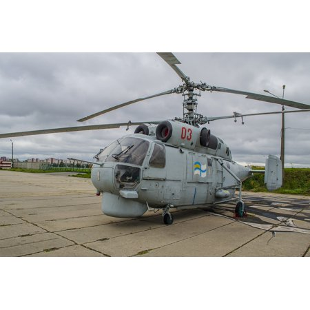 Canvas Print Sea Military Deck Helicopter Ka-27 Aviation Stretched Canvas 10 x 14