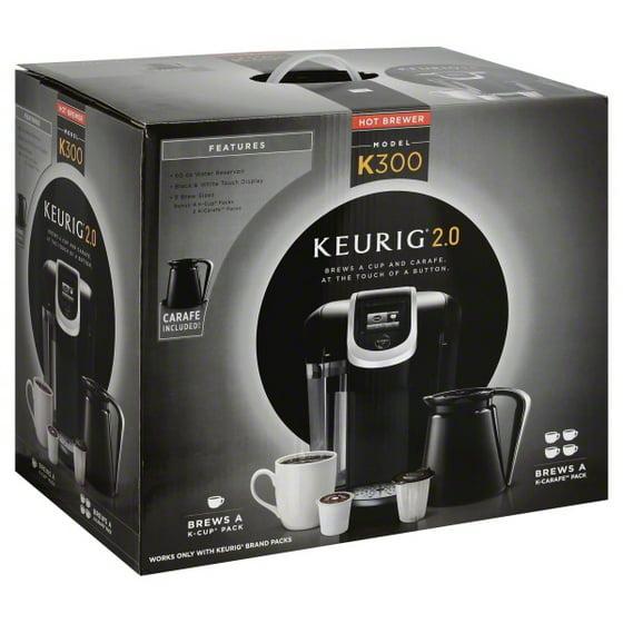 Keurig 2.0 K300 Coffee Brewing System With Carafe