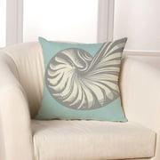 Checkerboard, Ltd Nautilus Throw Pillow