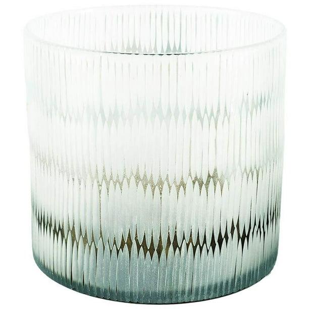 Mercana Sven Ii Tall White Detail Glass Vase Walmart Com Walmart Com
