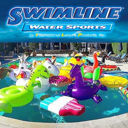 Swimline Swimming Pool Ufo Squirter Toy Inflatable Lounge