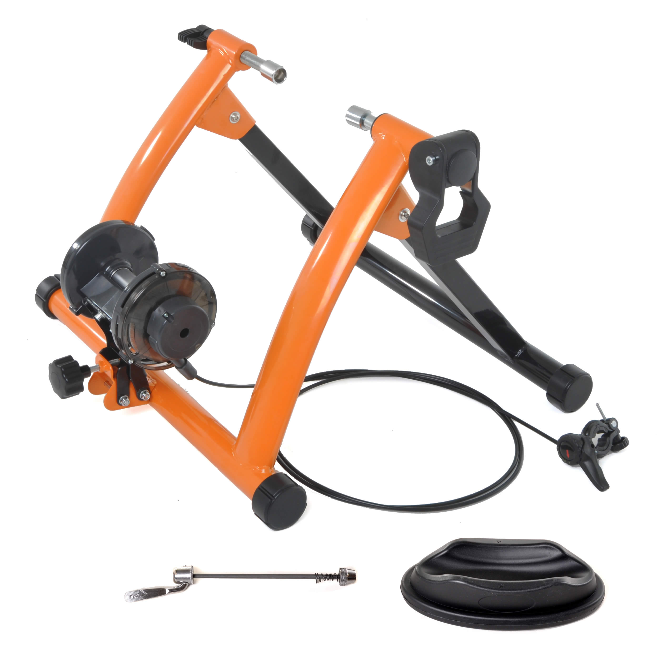 Indoor Exercise Bike Trainer Stand with Quick Release and Shifter