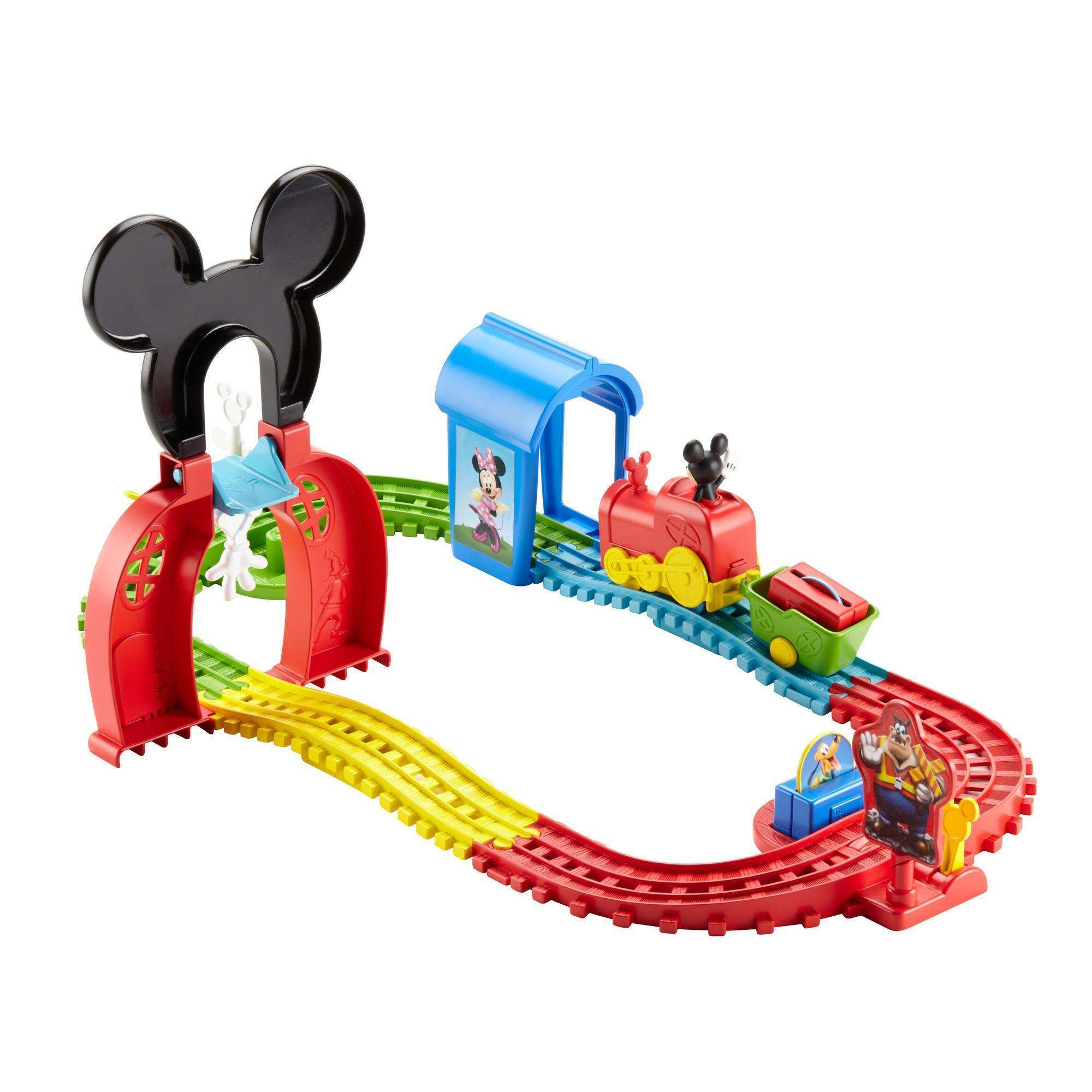 Disney Mickey Mouse Clubhouse Mouska Train Express Playset by FO SHAN CITY NANHAI MATTEL