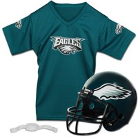 Philadelphia Eagles Franklin Sports Youth Helmet and Jersey Set