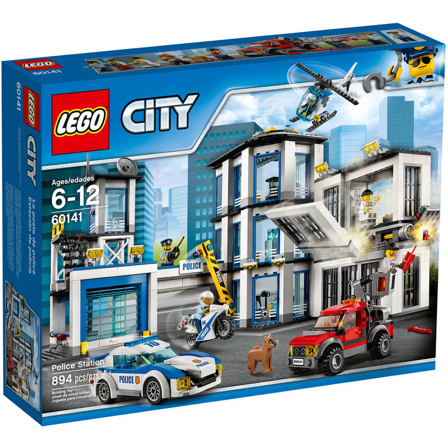 Lego City Police Police Station 60141 by LEGO System Inc