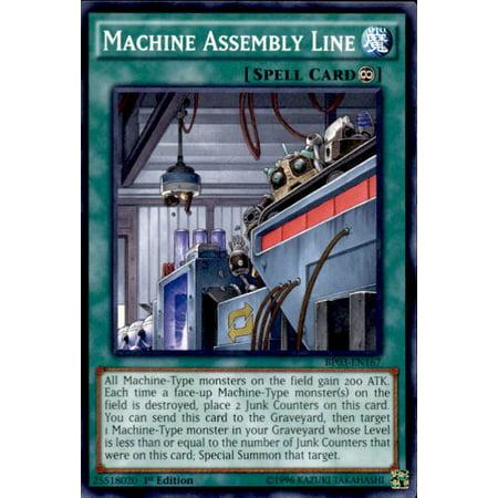 YuGiOh Battle Pack 3 Monster League Machine Assembly Line BP03-EN167 - Pep Assembly Games